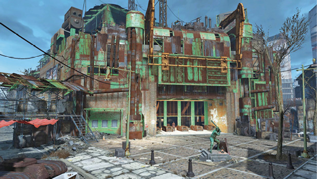 how to get to diamond city fallout 4