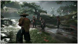 Дебютный геймплей Ghost of Tsushima