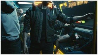 Дебютный трейлер Cyberpunk 2077 на движке