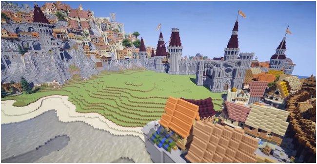 Ведьмак 3 / Minecraft