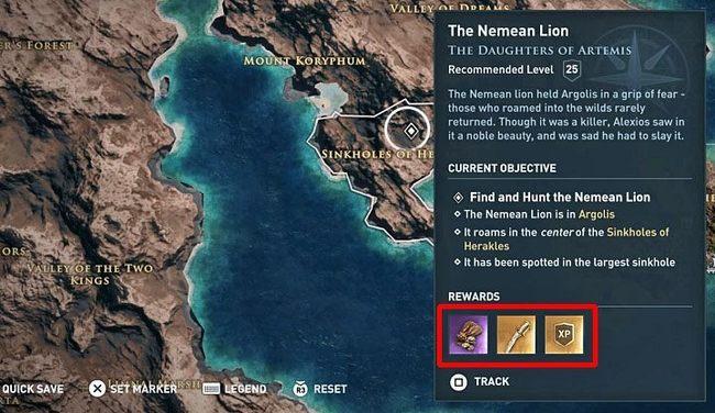 Виды заданий | Гайд Assassin's Creed Odyssey