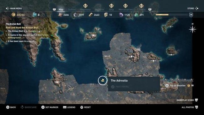 Боги Эгейского моря | Гайд Assassin's Creed Odyssey