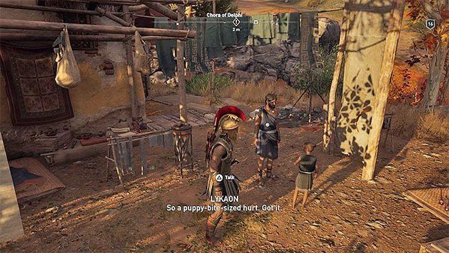 Роман с Ликаоном | Гайд Assassin's Creed Odyssey