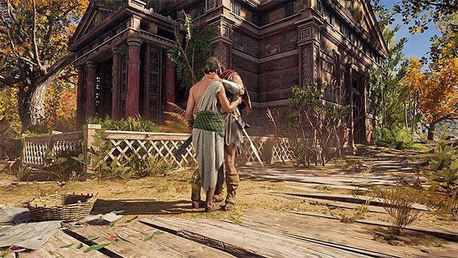 Роман с Дафной | Гайд Assassin's Creed Odyssey