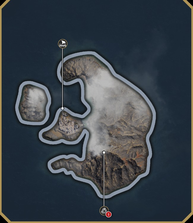 Тира | Карта Assassin's Creed Odyssey