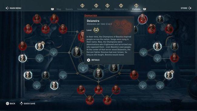 Герои Культа | Гайд Assassin's Creed Odyssey