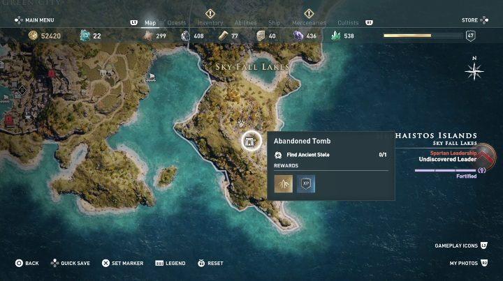 Ostrova Gefesta Grobnicy Assassin S Creed Odyssey