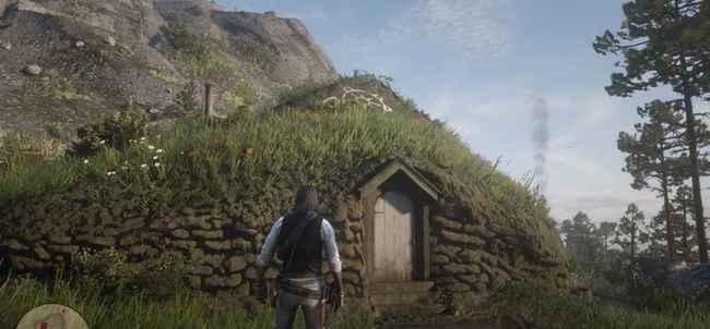 Локация точки интереса Red Dead Redemption 2