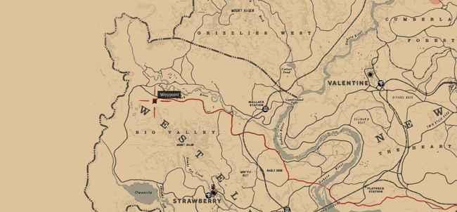 Все хижины в Red Dead Redemption 2
