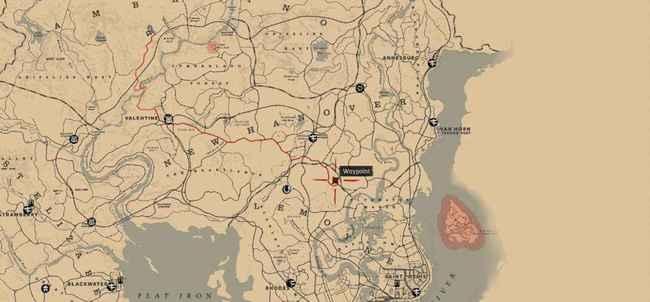 Тайники в Red Dead Redemption 2