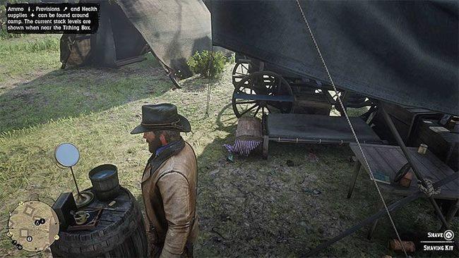 Как подстричь волосы в Red Dead Redemption 2?