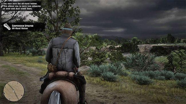 Можно ли использовать сразу два оружия в Red Dead Redemption 2?