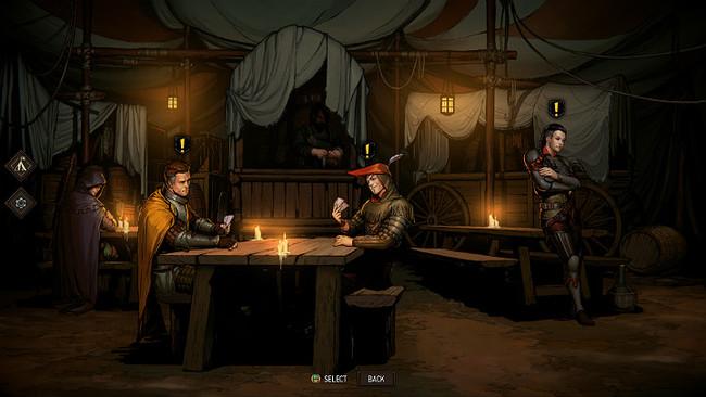 Лагерь | Гайд Кровная вражда: Ведьмак. Истории