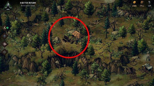 Карта сокровищ Лирии | Гайд Кровная вражда: Ведьмак. Истории