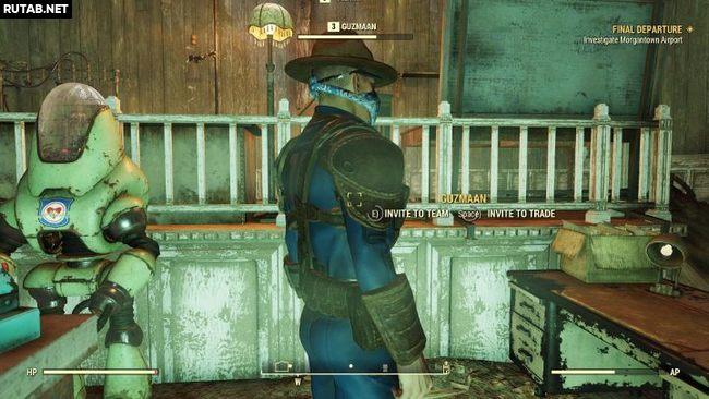 Как присоединиться к команде в Fallout 76?