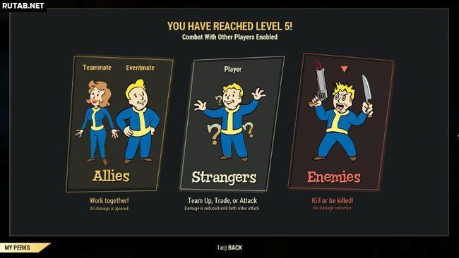 Как работает PvP в Fallout 76?