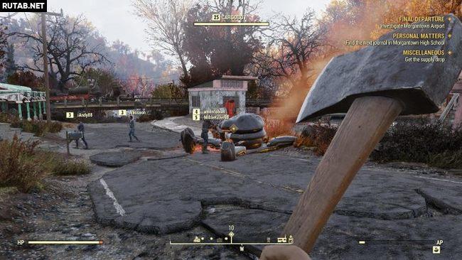 Как работает мультиплеер в Fallout 76?