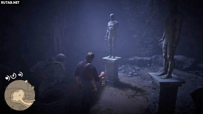 Головоломка со странными статуями в RDR2