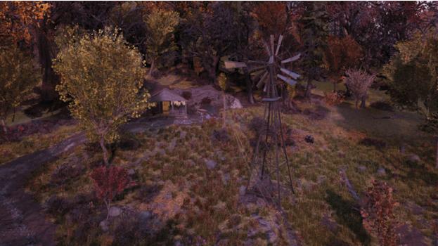 Изолированная хижина | Регион Лес - Зона A