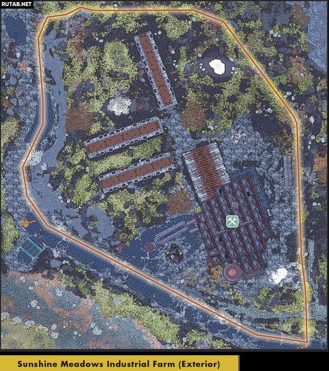Промышленная ферма «Солнечные луга» (Мастерская) | Регион Лес - Зона A