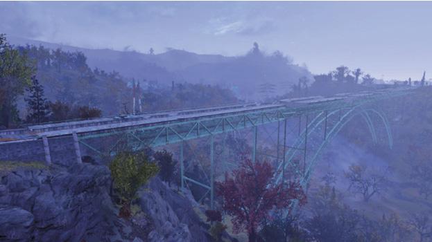Мост Нью-Ривер-Гордж-Восток   Регион Лес - Зона C