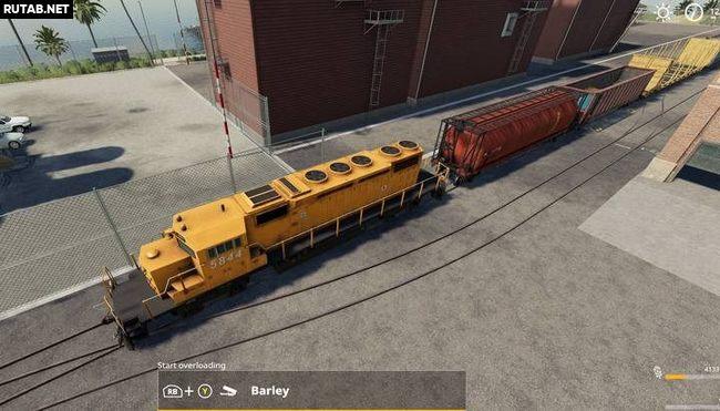 Поезда в Farming Simulator 19