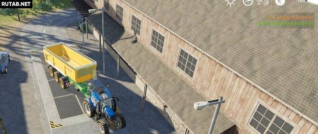 Продажа урожая в Farming Simulator 19