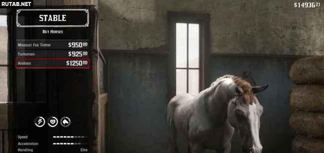 Лучшая лошадь в Red Dead Redemption 2