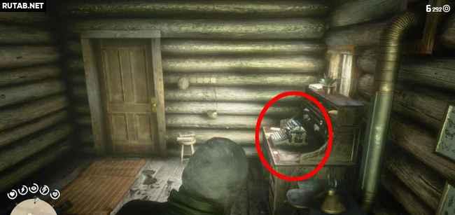 Где найти трубку (Датч) в Red Dead Redemption 2?