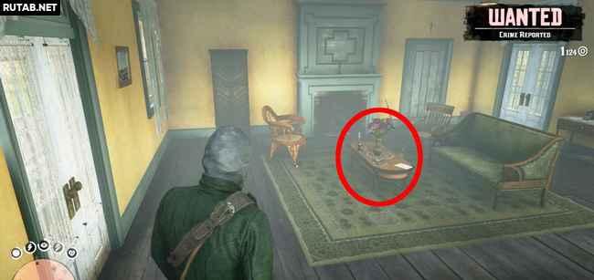 Где найти книгу для Хозии в Red Dead Redemption 2?