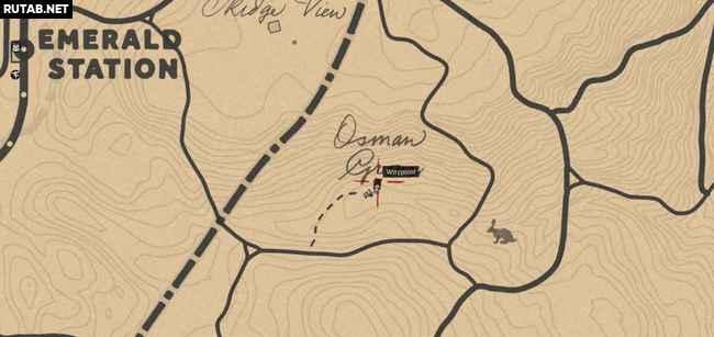 Где найти ручку в Red Dead Redemption 2?