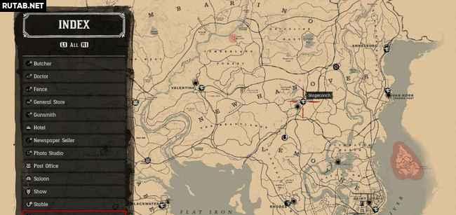 Все дилижансы в Red Dead Redemption 2
