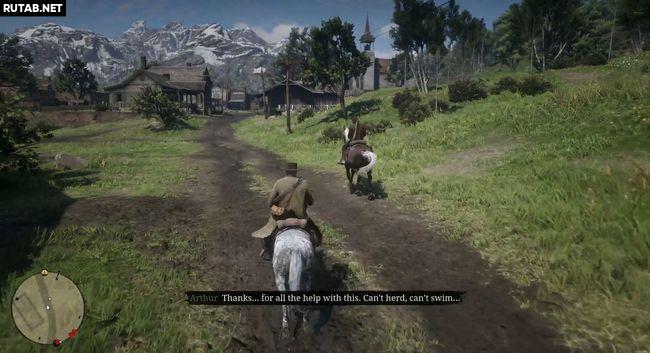 Овцы и козлища   Прохождение Red Dead Redemption 2