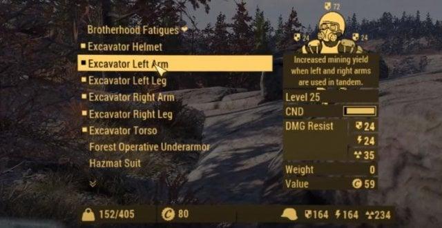 Как получить силовую броню Экскаватор (Excavator)?