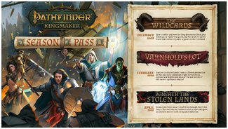 Pathfinder Kingmaker / The Wildcards