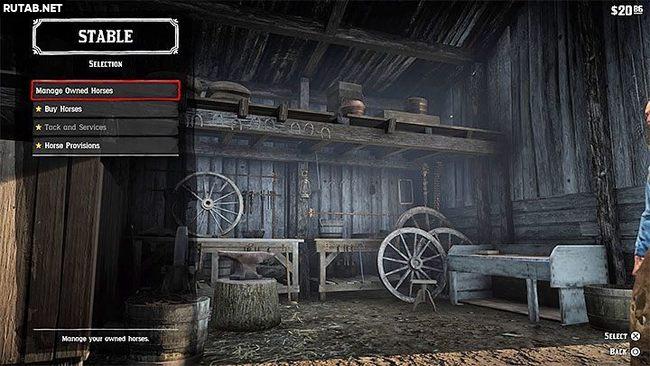Как поменять лошадь в Red Dead Redemption 2?