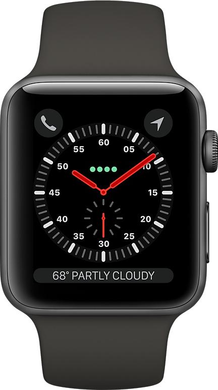 Сравнение: Apple Watch 4 против Apple Watch 3