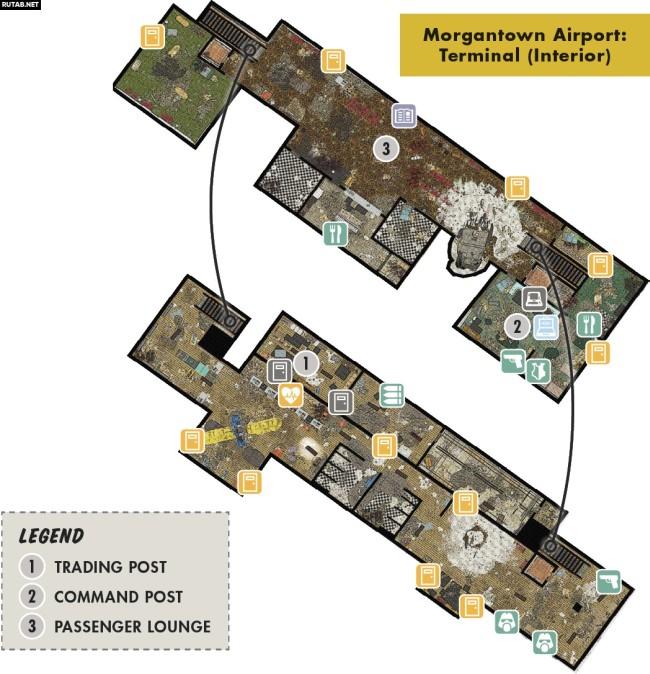 Аэропорт Моргантауна   Регион Лес - Зона C