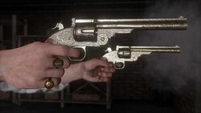 Все оружие в Red Dead Redemption 2