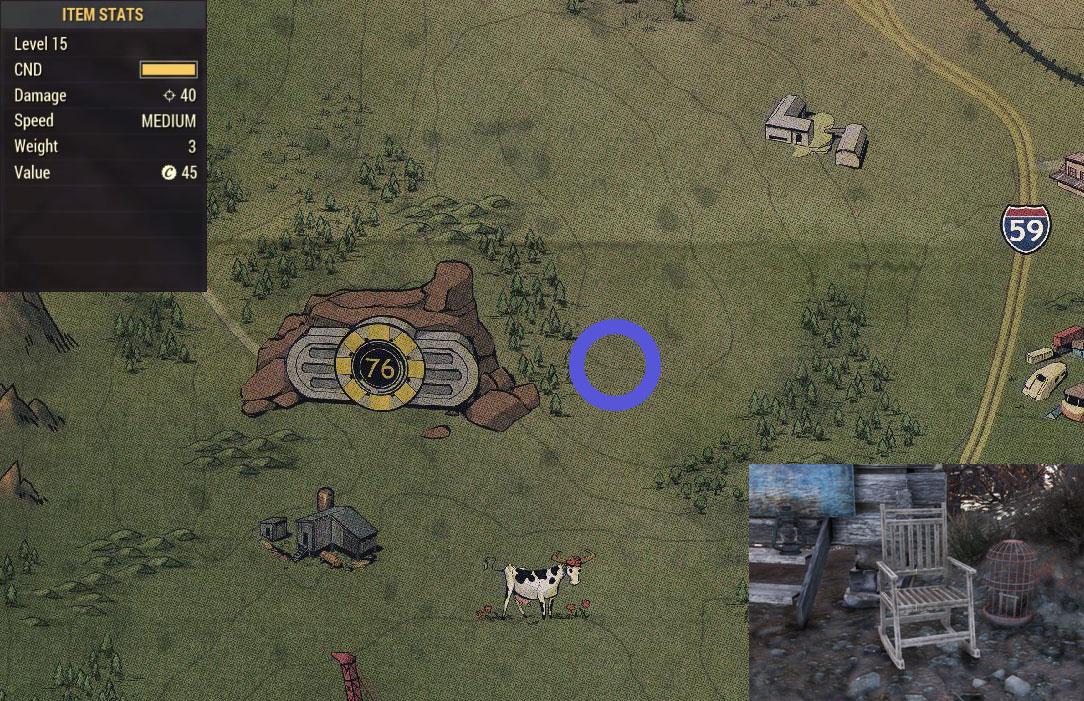 Где найти редкое оружие в Fallout 76