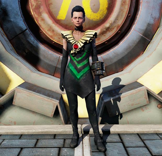 Уникальная одежда в Fallout 76