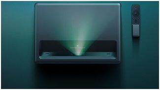 Xiaomi 4K Mijia Laser Projector TV | Изображение размером