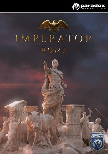 Cover art of Imperator: Rome.