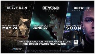 Quantic Dream   Epic Games Store