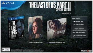 The Last of Us Part II   Тема для PS4 Набор из шести аватарок для PSN Цифровой саундтрек Цифровой артбук